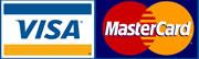 Visa & Mastercard accepted
